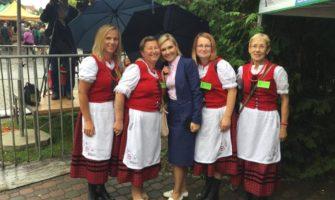 39 Międzynarodowy Jarmark Folkloru wWęgorzewie