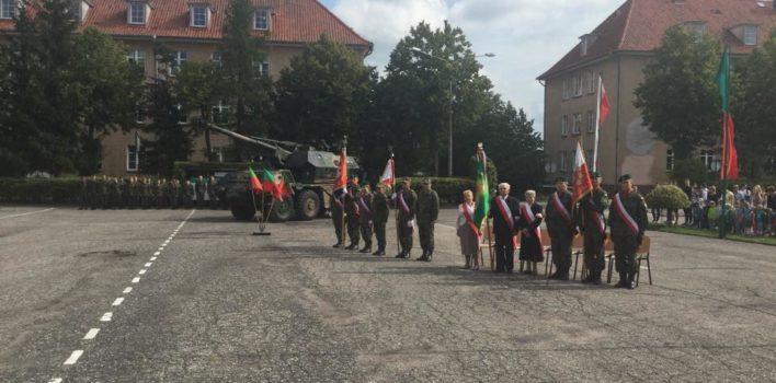 Uroczystości 11 Mazurskiego Pułku Artylerii im.gen. Józefa Bema wWęgorzewie – 02.09.2016r.