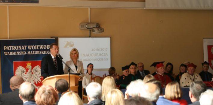 Inauguracja Roku Akademickiego wWSIiE TWP wOlsztynie – 24.09.2016r.