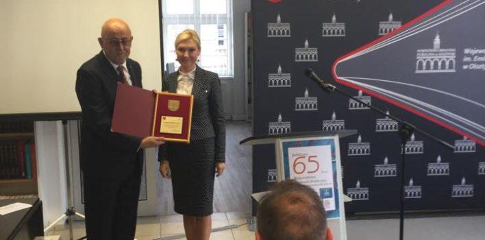 65 lecie działalności Wojewódzkiej Biblioteki Publicznej wOlsztynie – 22.09.2016r.