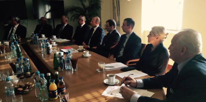 Spotkanie zsamorządowcami wsprawie szlaku Pisa – Narew