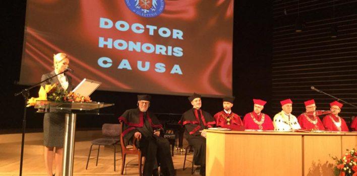Nadanie tytułu Doktora Honoris Causa prof.Oskarowi Gottliebowi Blarrowi