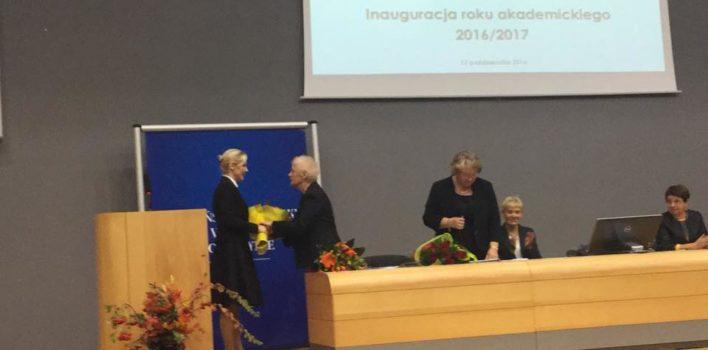 Inauguracja roku akademickiego Warmińsko-Mazurskiego Uniwersytetu Trzeciego Wieku wOlsztynie