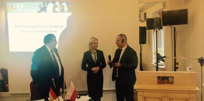 Polsko – Niemiecki Kongres Samorządowy Grupy Roboczej Partnerstwo Komunalne – 15.10.2016r.