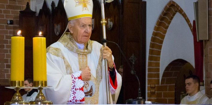 Imieniny, urodziny i60 rocznica święceń kapłańskich Arcybiskupa doktora Edmunda Piszcza – 19.11.2016r.