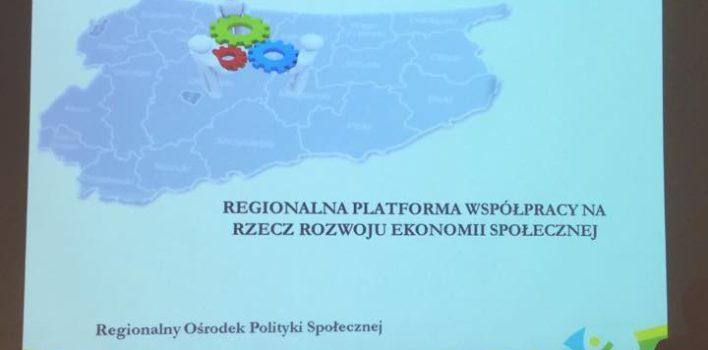 Powstanie regionalnej sieci kooperacji podmiotów ekonomii społecznej ocharakterze reintegracyjnym