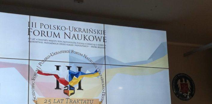 III Polsko – Ukraińskie forum naukowe.