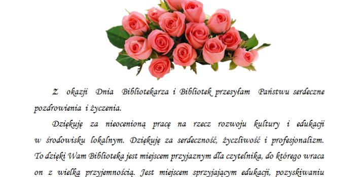 Dzień Bibliotekarza iBibliotek :)