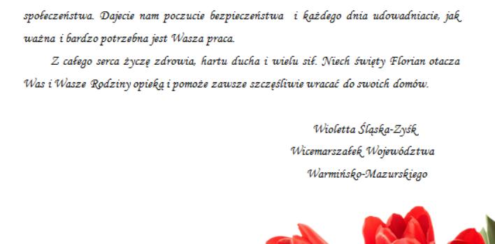 Międzynarodowy Dzień Strażaka:)