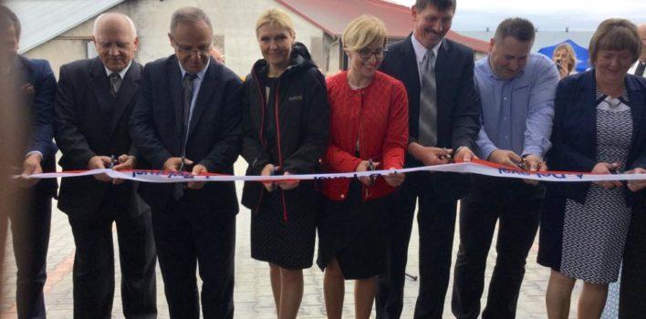 Otwarcie nowoczesnej obory wolnostanowiskowej rusztowej zdojarnią wOrłowie – gmina Biała Piska.