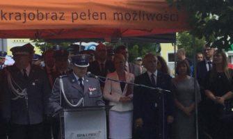 Wojewódzkie Obchody Święta Policji wBiskupcu.