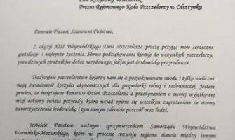 XIII Wojewódzki Dzień Pszczelarza wOlsztynku :)