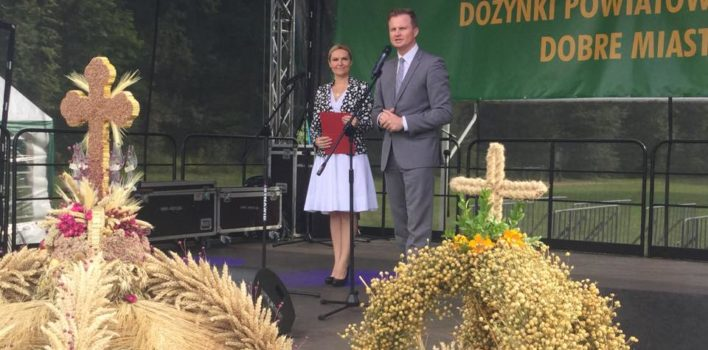 Święto Chleba iDożynki Powiatowe wDobrym Mieście.